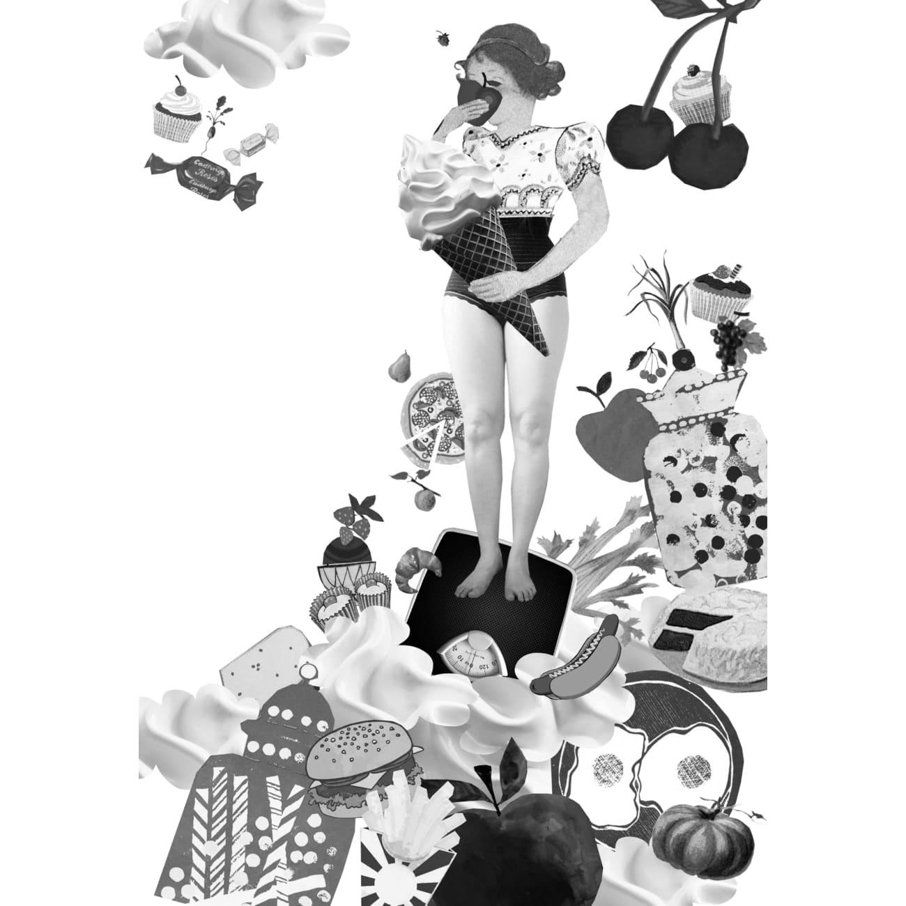 Origineel uniek feest vintage retro poesie nostalgie gezellig vrolijk kleurrijk stoer schattig nostalgisch kraamcadeau verjaardagscadeau art kunst illustratie illustration gouden boekje kijkplaat zoekprent zoekplaat zoekboek kinderboek reizen gepersonaliseerd festival reizen safari flamingo grootzus groot zus fantasie aantrekkelijk poesie zwartwit zwart wit illustratie jeugdzorg jeugdhulp ggz ADHD depressie stoornis anorexia autisme beeld collage FC verhulst minder- en jeugdpsychiatrie
