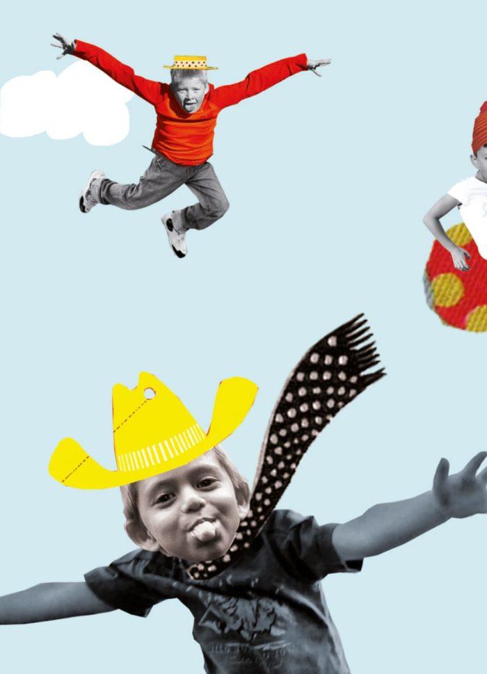kinder- jeugd psychiatrie illustratie redactioneel professioneel collage grootzus jeugd kinderen pubers adolescent kleurrijk verwijzing verwijzen folder promotie informatie problematiek illustratie jeugdzorg jeugdhulp ggz ADHD depressie stoornis anorexia autisme beeld collage