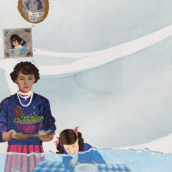 jeugdhulpverleners Amstel Zaan jong magazine professionals in de jeugdzorg content beat amsterdam omstreken jeugd zorg psychiatrie depressie erfelijkheid illustratie professioneel collage editorial