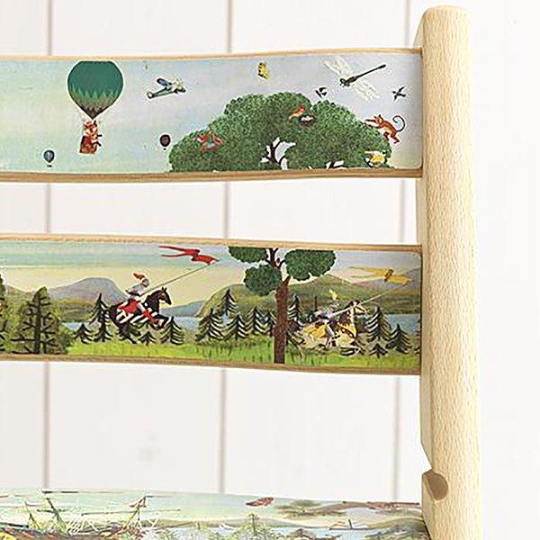 stokke tripp Trapp grootzus ridders natuur stijl illustratie collage dieren mooi sfeervol nostalgisch nostalgie vogels bomen natuur insecten beestjes actie win actie eenmalig one of a kind collectors item