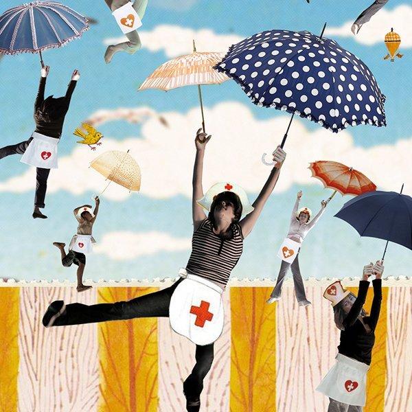 pggm zorg bevlogenheid werken in de zorg illustratie professioneel editorial plezier in je werk pggm