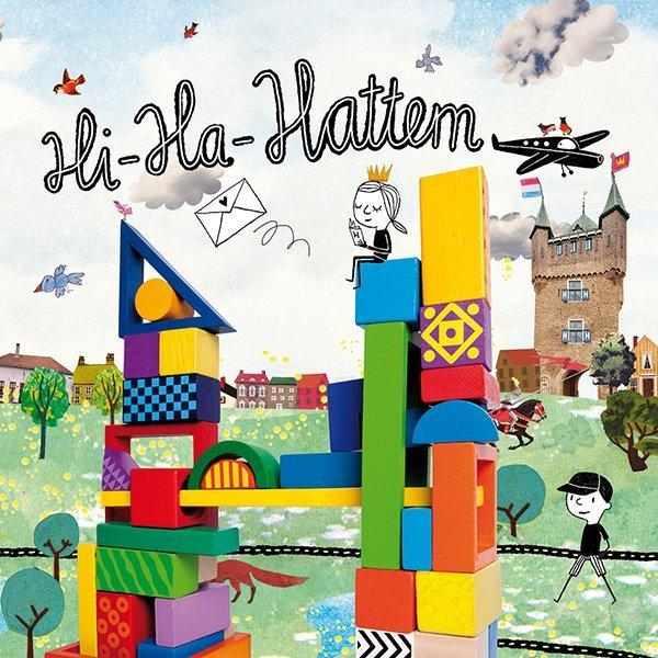 HI HA Hattem illustraties toerisme lonely planet kinderen vvv historisch Hattem plattegrond weetjes tips groeten uit Hattem Margi Geerlinks
