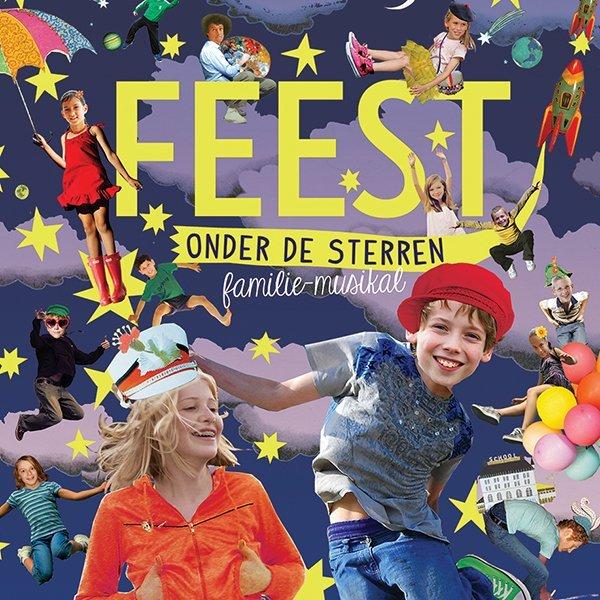cook a dream musical kinderen voor kinderen jeugd poster waanzinnig gedroomd feest collage illustratie professioneel grootzus charlotte nieuwland Vara pilot