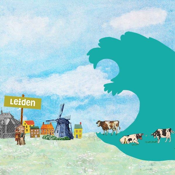 waterwolf, polder, cruquius, stoomgemaal, gemaal, Haarlemmermeer, animatie, educatie, boerhaave, museum, film, leiden, geschiedenis, Haarlem, amsterdam, ontstaan, video, educatieve animatie, animatie in de klas