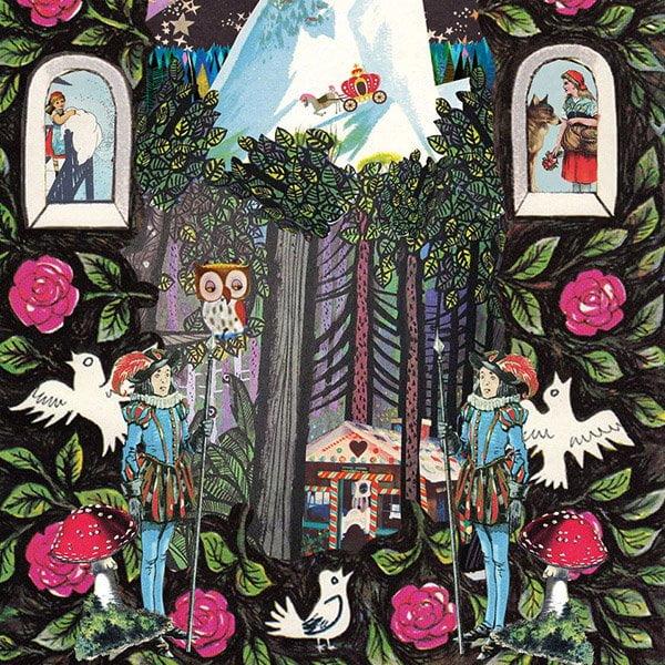 JM voor ouders tijdschrift magazine weekbladpers dyslexie illustratie collage professioneel editorial illustrator sprookje doorn roosje prins wit paard hans grietje klein duimpje Andersen Grimm fabels sprookjes boek