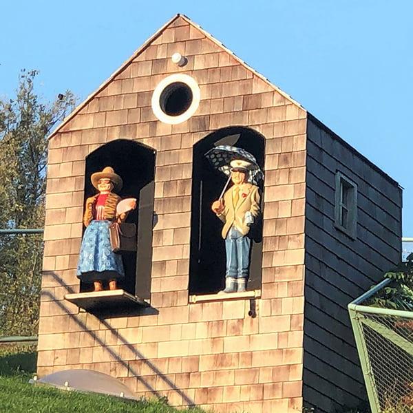 plaswijckpark binnen speeltuin opa oma weerhuisje heuvel huis op de heuvel collage 3d speeltuin